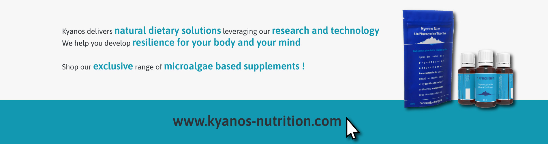 Shop our exclusive range of microalgae based supplements !